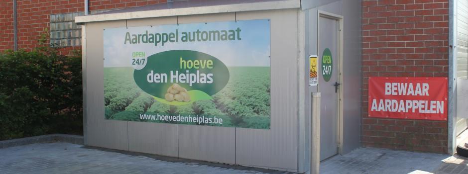 Automaat Heiplasstraat in Lede - Open 24/7